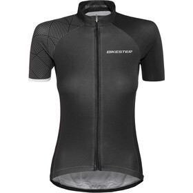 Bikester Advanced Race Kortærmet cykeltrøje Damer, black
